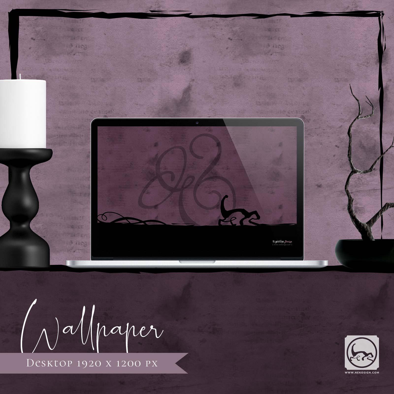 Wallpaper Nekosign 2009 Ampersand Desktop