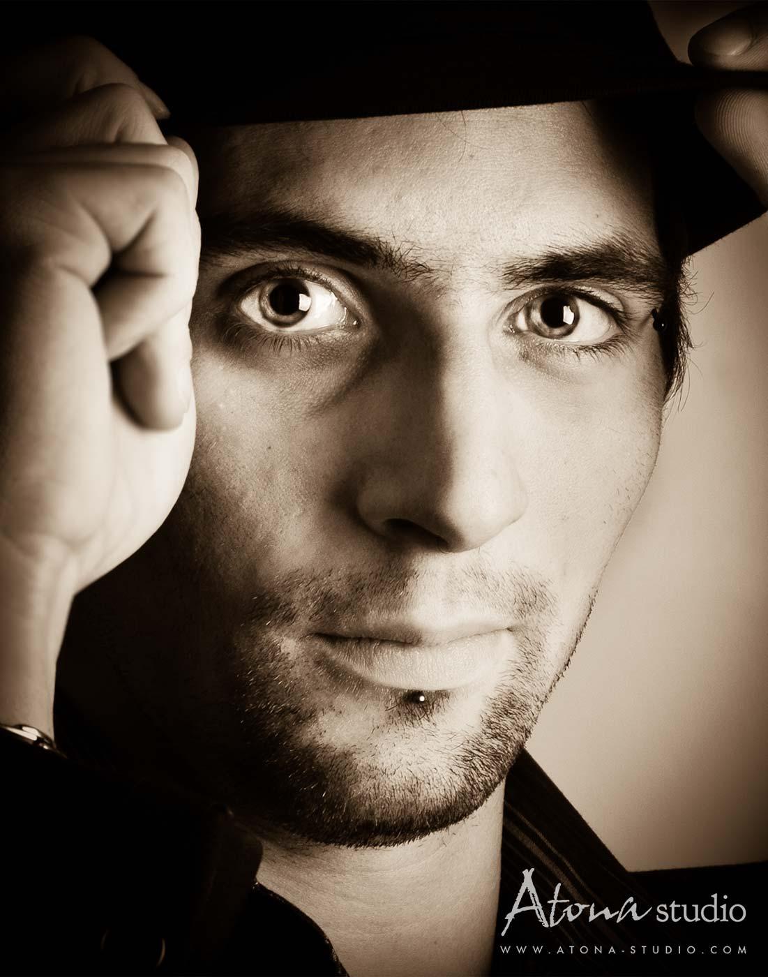 Atona Studio - Portrait homme