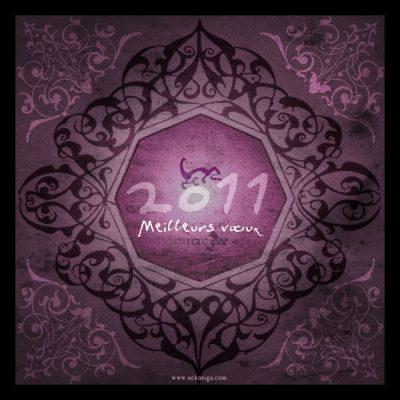 Carte de vœux Nekosign 2011