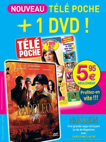 Affiche DVD Napoléon