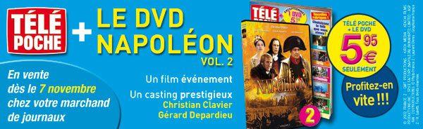 DVD Napoléon - Encart
