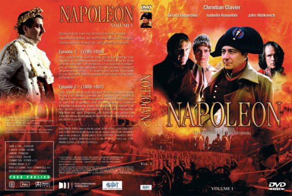 DVD Napoléon - Jaquette Volume 1