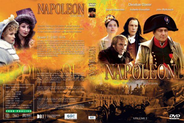 DVD Napoléon - Jaquette Volume 2