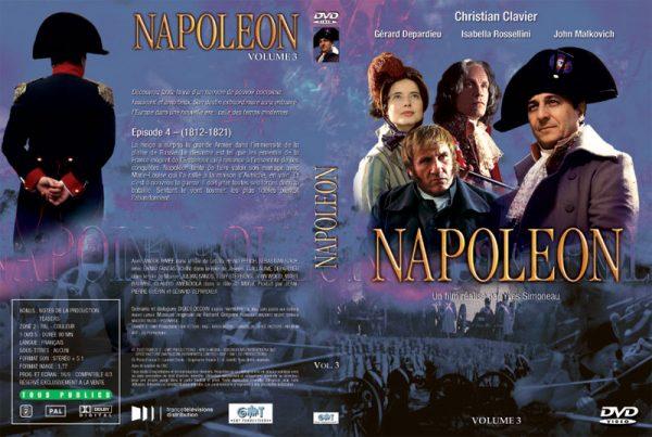DVD Napoléon - Jaquette Volume 3