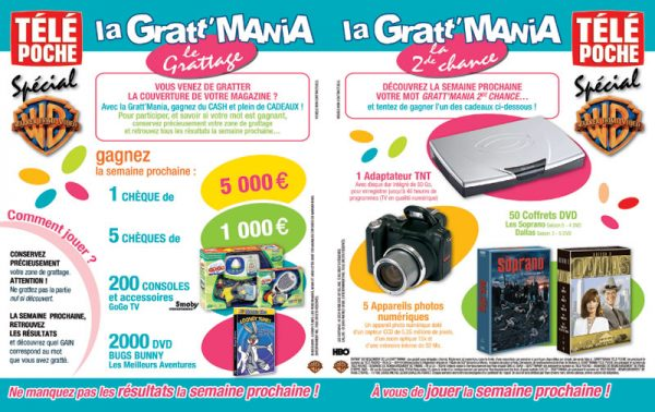 Gratt'Mania - Télé Poche 2077