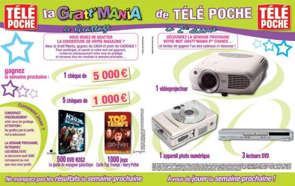 Gratt'Mania - Télé Poche 2092