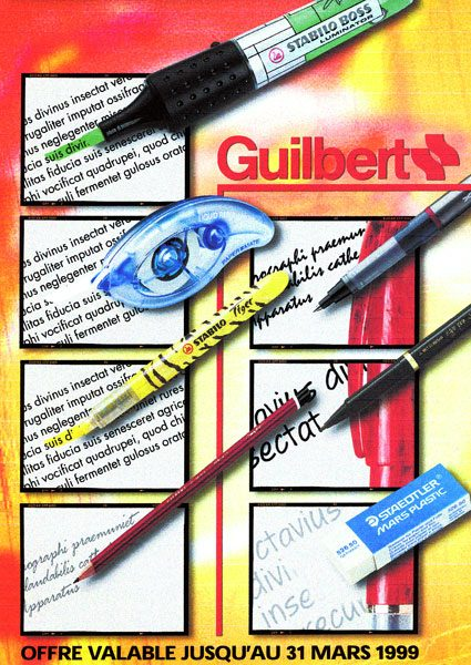 Catalogue Guilbert Couverture 2
