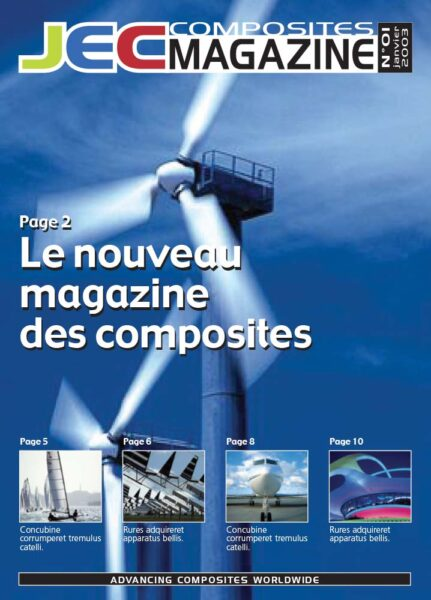 JEC Magazine Couverture 1