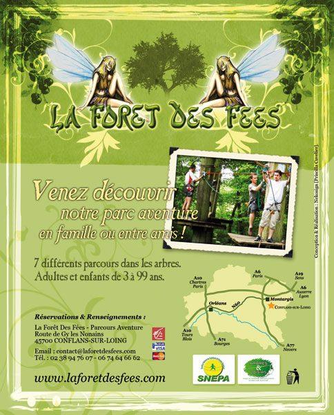 Annonce Presse La forêt des fées