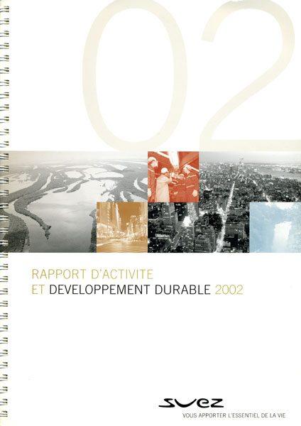 Rapport Annuel Suez Couverture