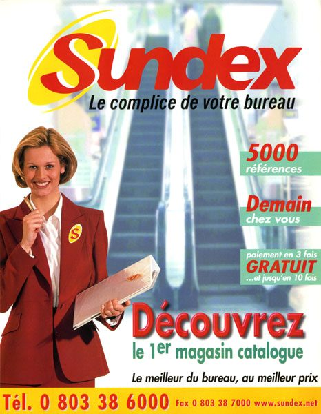 Catalogue Sundex Couverture