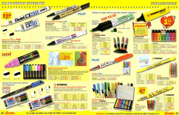Catalogue Sundex Double page