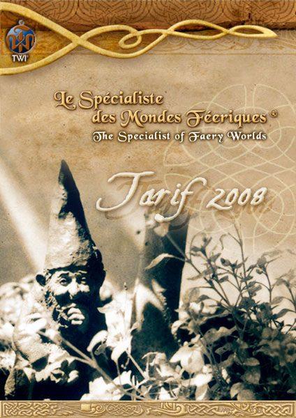 Tarifs 2008 TWI - Couverture
