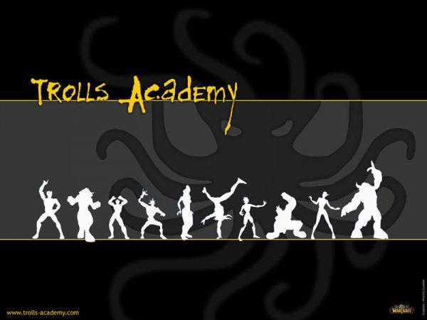 Wallpaper Trolls 2008 - Poulpe gris