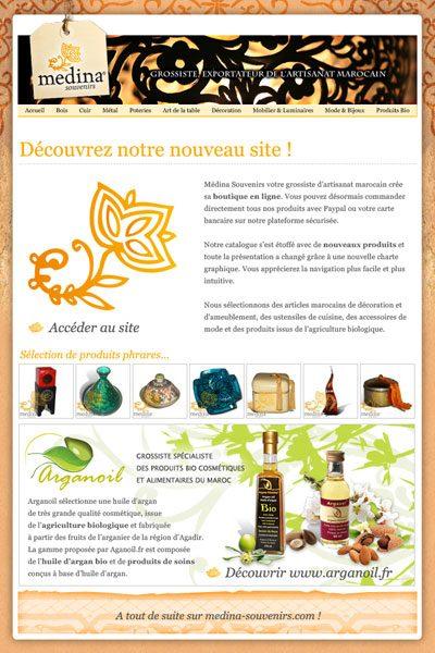 Com Medina Souvenirs 2011 - Lancement