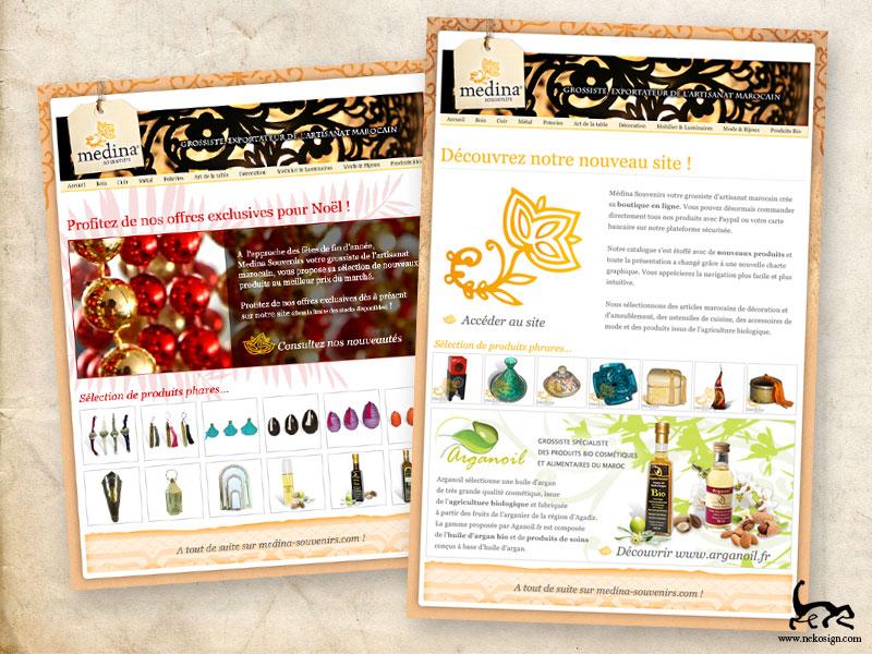 Newsletters Medina Souvenirs 2011