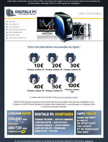 Newsletter Digitale PC