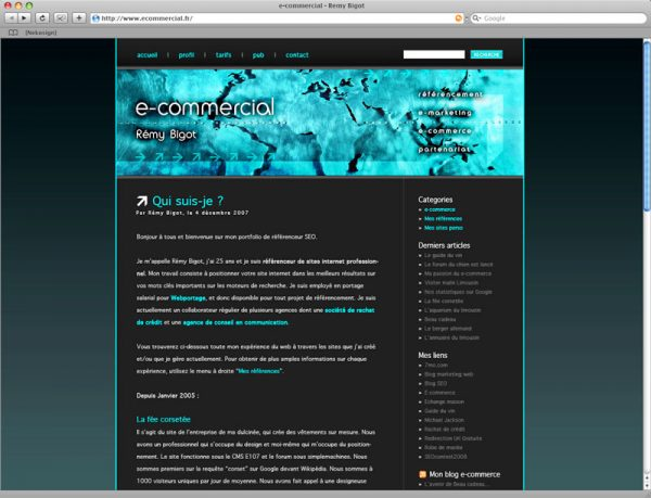 Blog E-commercial - Page 1