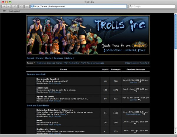 Site Trolls v1 - Forum