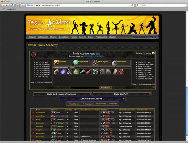 Site Trolls v3 - Roster