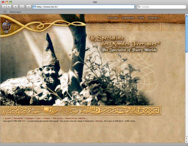Site TWI - Accueil