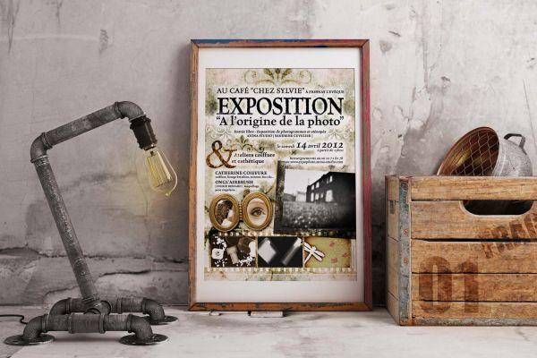 Atona Studio Expo Affiche