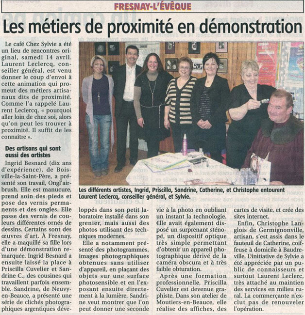 Article Courrier du Loiret