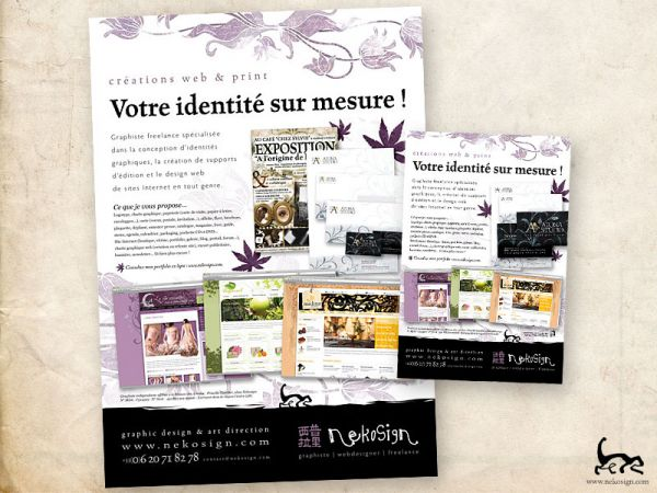 Nekosign Affiche et flyer