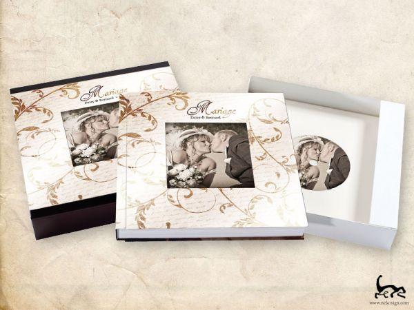 Livre Album mariage Atona Studio