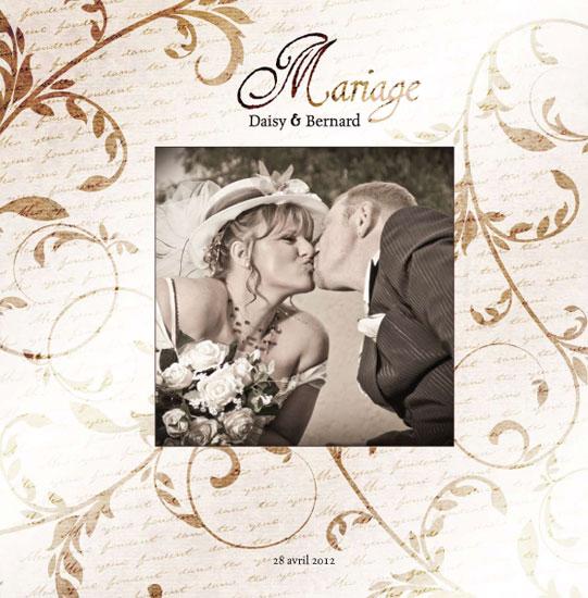 Album mariage Couverture