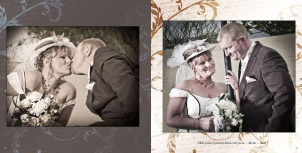 Album mariage Pages 10-11
