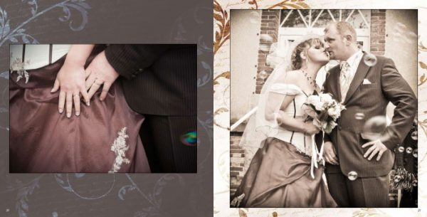 Album mariage Pages 20-21