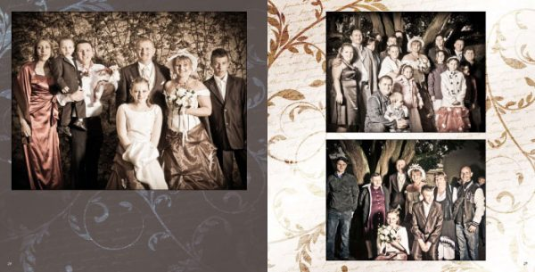 Album mariage Pages 24-25