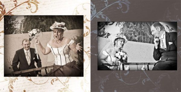 Album mariage Pages 8-9