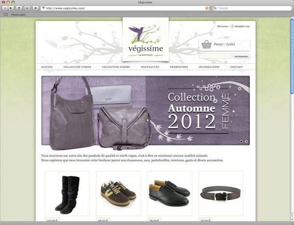 Webdesign Végissime - Accueil - Haut de page