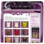 Site web La fée corsetée v1