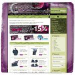 Site web La fée corsetée v2 Noël 2007