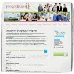 Site web Progressis GE