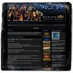 Site web Trolls Academy v1