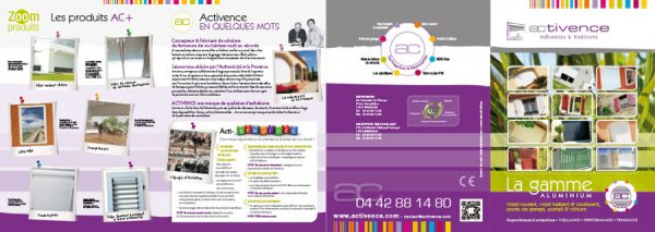 Print Plaquette Activence Planche 1