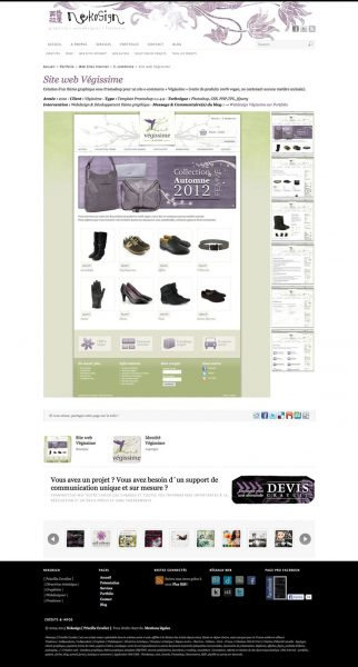 Webdesign Nekosign v3.3 - Fiche