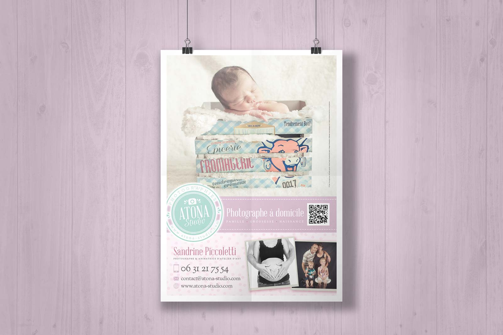 Atona Studio v2 - Communication baby affiche