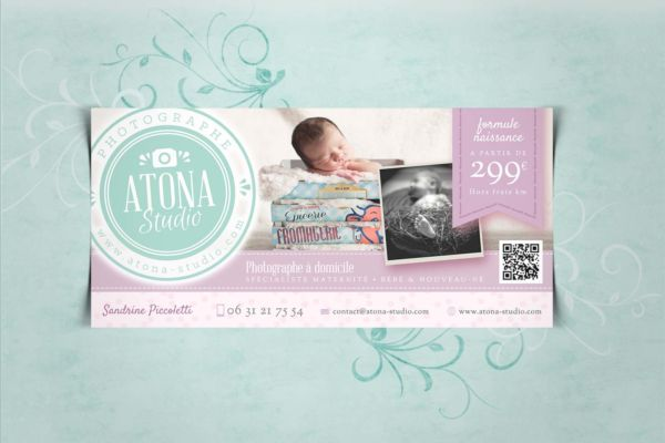 Atona Studio v2 - Communication baby flyer