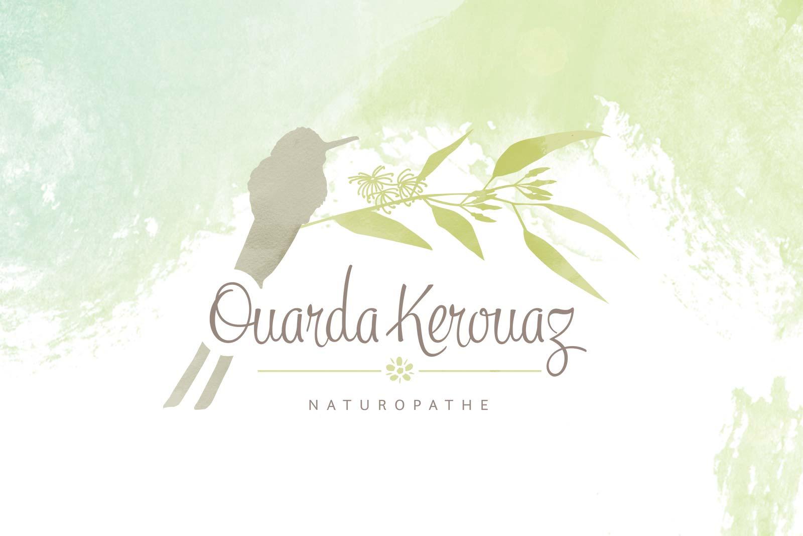 Ouarda kerouaz Naturopathe Logotype