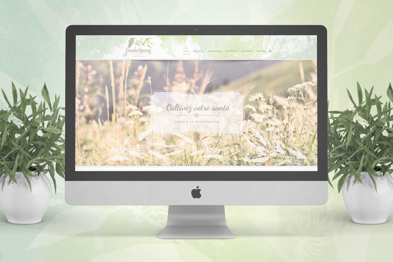 Ouarda Kerouaz Naturopathe Site internet