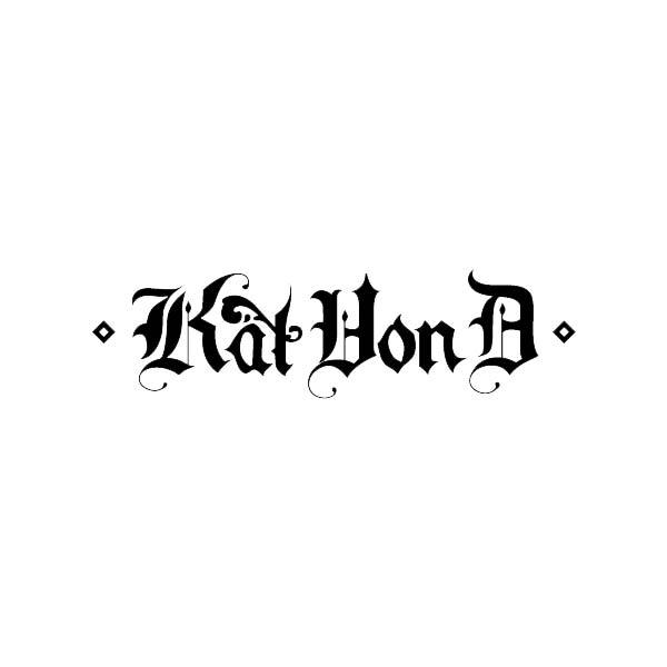 Logo classique - Kat Von D
