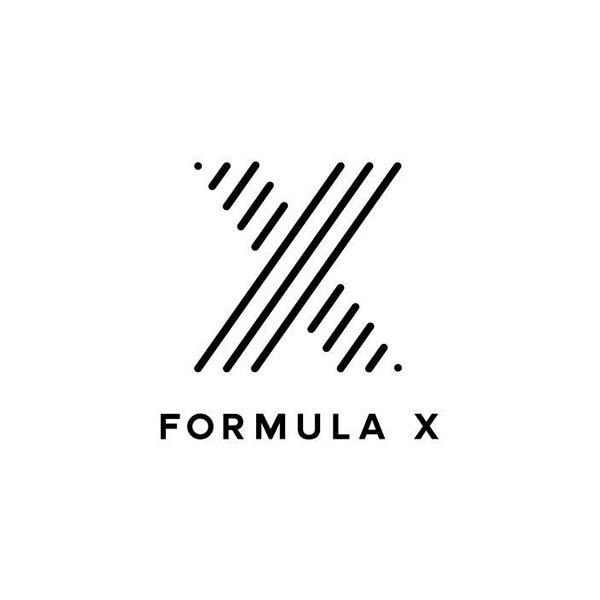Logo majuscule - Formula X