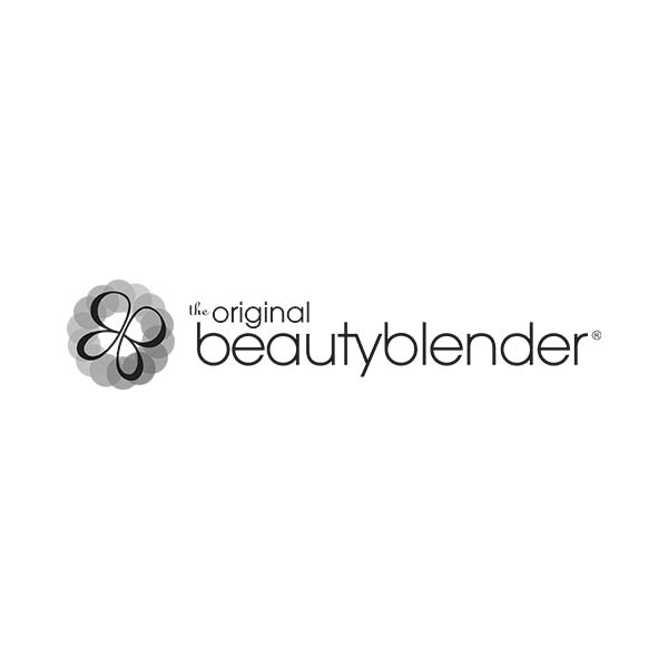 Logo en minuscule - beauty blender