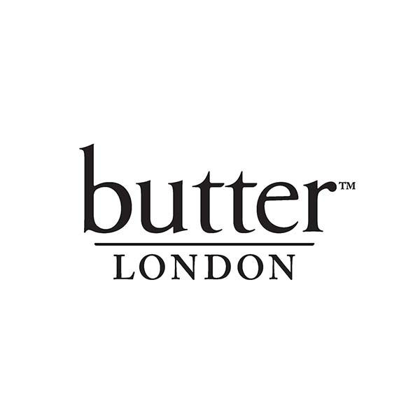 Logo en minuscule - butter london