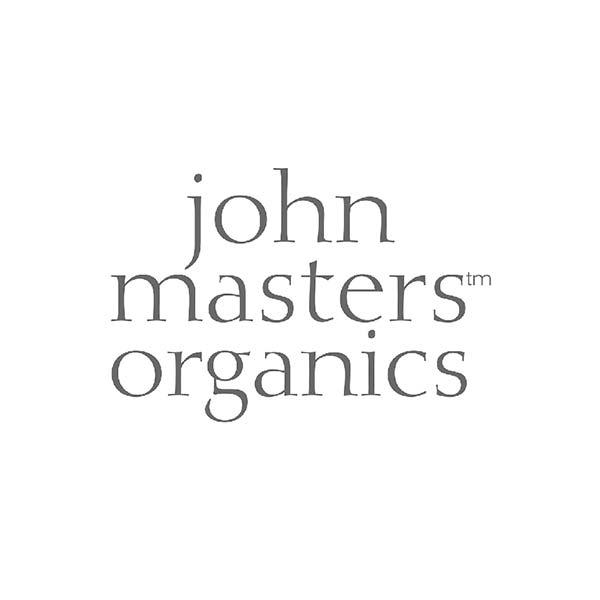 Logo en minuscule - john masters organics